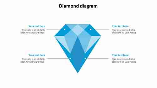 Diamond%20Diagram%20PowerPoint%20Presentation-Four%20Node