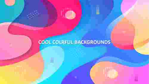 cool colorful backgrounds presentation