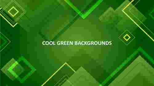 cool green backgrounds slide