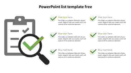 powerpointlisttemplatefreemodel