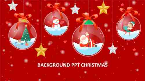 background ppt christmas