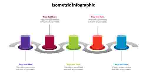 isometricinfographicPowerPointtemplate