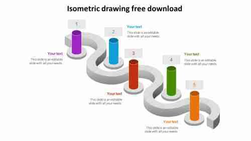 isometricdrawingpowerpointpresentationfreedownloadmodel