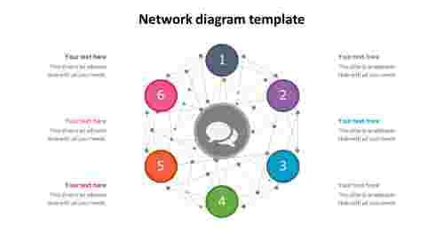 network diagram template design