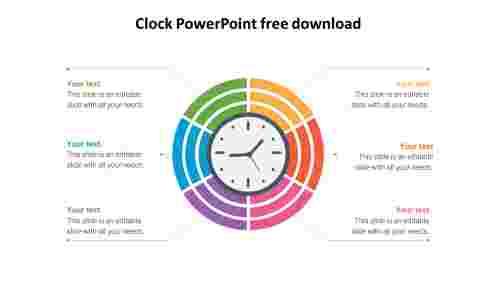 Clock%20PowerPoint%20Free%20Download-Six%20Node