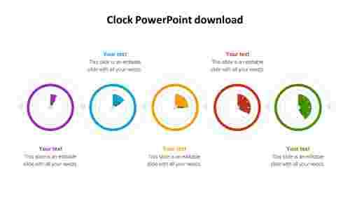 clockpowerpointdownloadslide