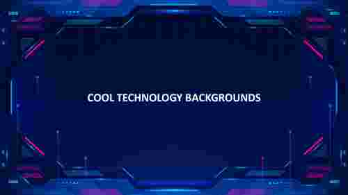 cool technology backgrounds template