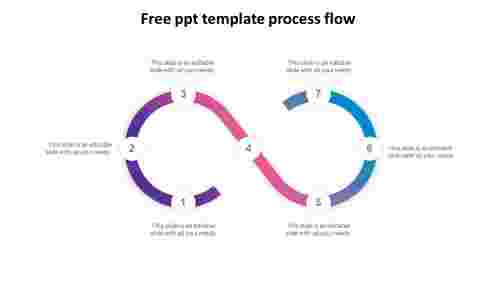 free ppt template process flow