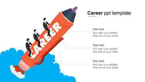 career ppt template