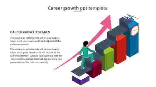 career growth ppt template
