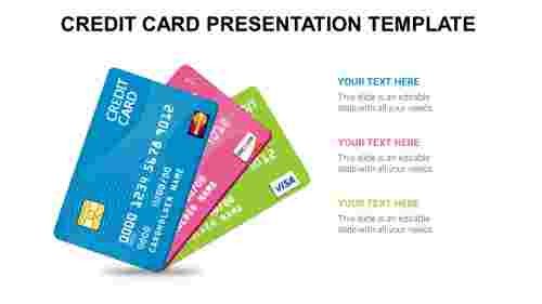 credit card presentation template
