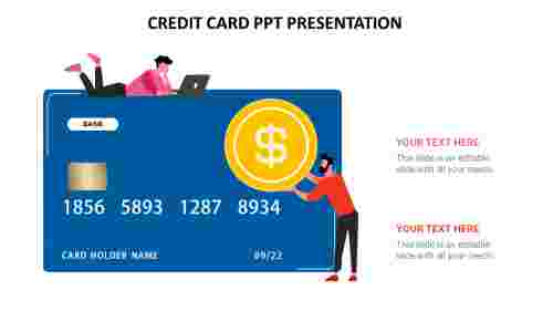 credit card ppt presentation