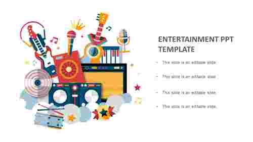 entertainment ppt template