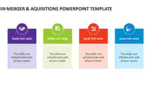 merger & aquisitions PowerPoint template