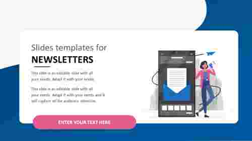 slides templates for newsletters