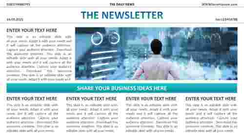 free editable powerpoint newsletter templates