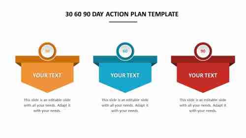 Attractive%2030%2060%2090%20Day%20Action%20Plan%20Template%20Presentation