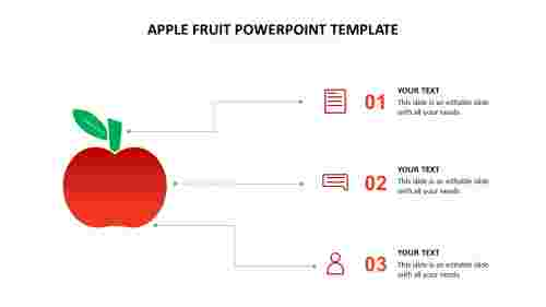 apple fruit powerpoint template