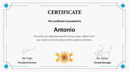 Best%20Certificate%20Training%20Template%20PPT%20For%20Employees