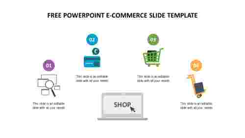 FREE POWERPOINT E-COMMERCE SLIDE TEMPLATE