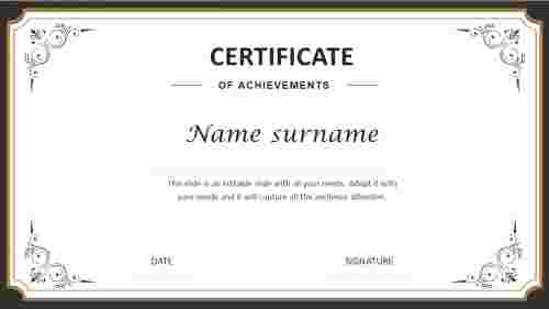 Simple%20Certificate%20of%20Achievement%20Template%20PPT