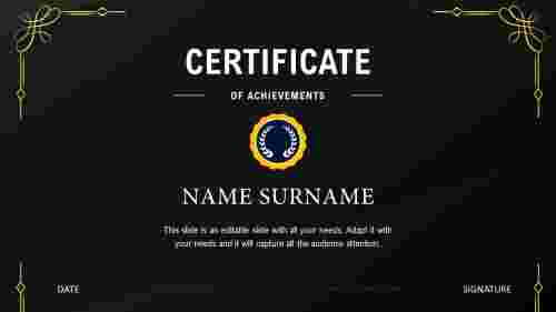 Stunning%20Certificate%20Of%20Appreciation%20Templates%20PPT