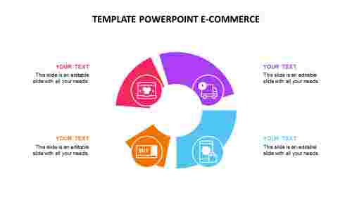 Template powerpoint e-commerce
