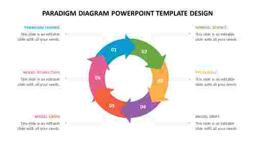 Paradigm diagram powerpoint template design