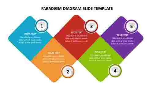 Paradigm diagram slide template