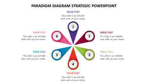 Paradigm diagram strategic PowerPoint