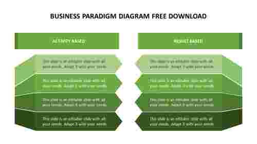 business Paradigm diagram free download