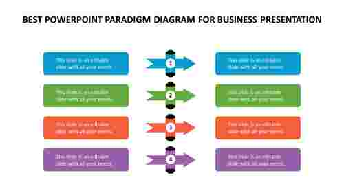 best powerpoint Paradigm diagram for business presentation