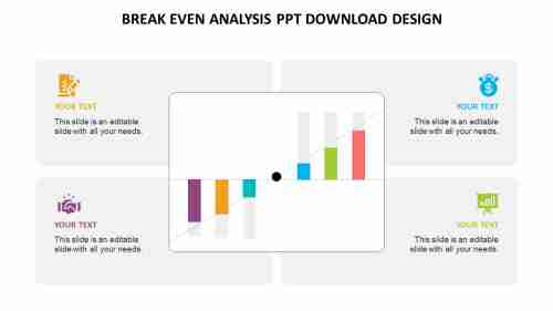 break even analysis ppt download design