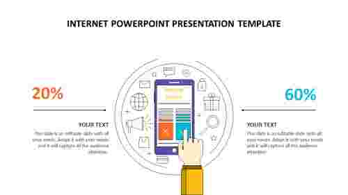 internet powerpoint presentation template