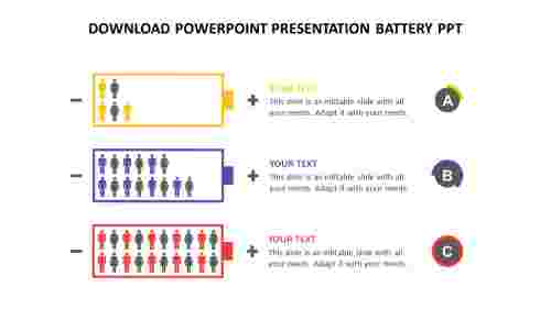 Editable%20download%20powerpoint%20presentation%20battery%20ppt