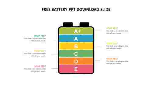 Free%20battery%20ppt%20download%20slide%20for%20company