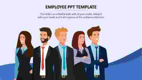 Simple%20employee%20ppt%20template%20