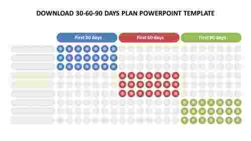 Download%2030-60-90%20days%20plan%20powerpoint%20template%20design