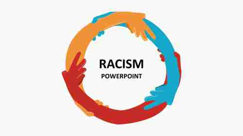 Attractive%20racism%20PowerPoint%20template%20free