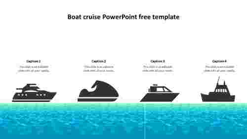 Easy%20editable%20boat%20cruise%20powerpoint%20free%20template%20
