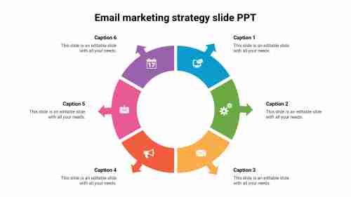 Email%20marketing%20strategy%20slide%20PPT%20model