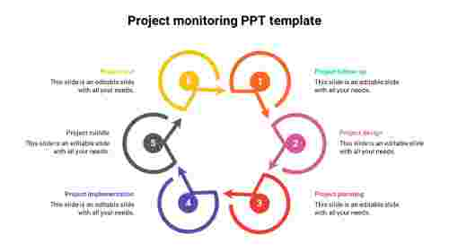 Project%20monitoring%20PPT%20template%20hexagonal%20model