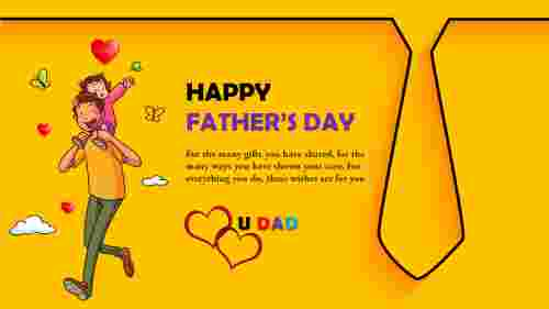 Attractive%20fathers%20day%20ppt%20template