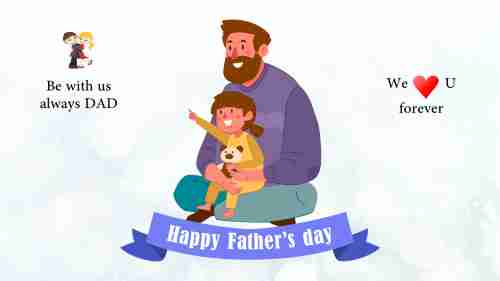 Simple%20Fathers%20day%20slide%20PPT%20presentation%20template