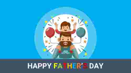 Fathers%20day%20PowerPoint%20presentation%20With%20background%20color