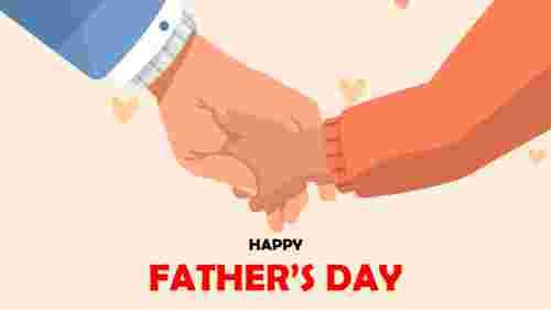 Fathers%20day%20slide%20PPT%20design%20template%20slide