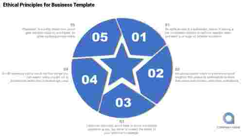 Circular Business Infographic Powerpoint