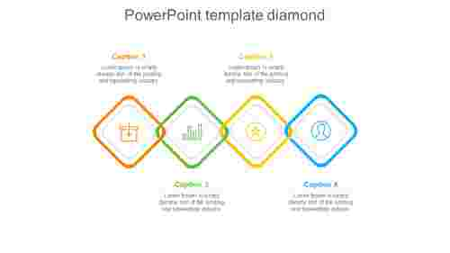 powerpoint template diamond-4