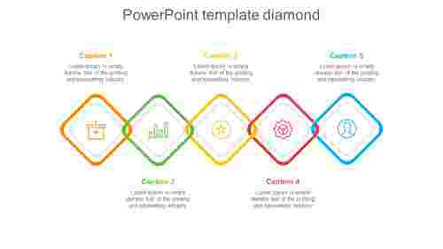 powerpoint template diamond-5