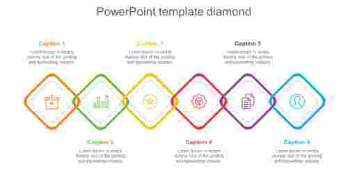 powerpoint template diamond model